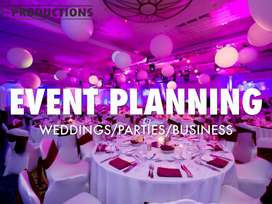 Any type plans for your events .
