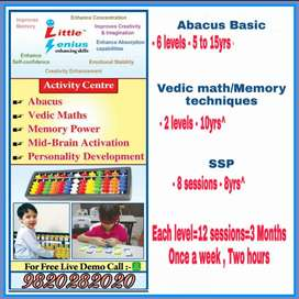 Abacus Vedic Maths Memory techniques Mid-Brain Activation