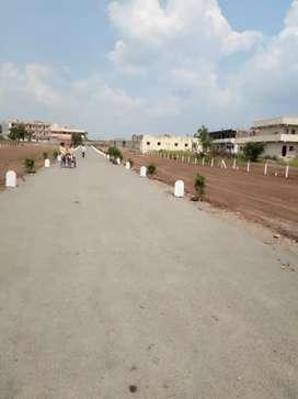 Open banglow plots at sanswadi