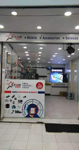 Mobile store good experience person rquied