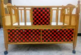 Wooden Convertible Baby and Children Cot