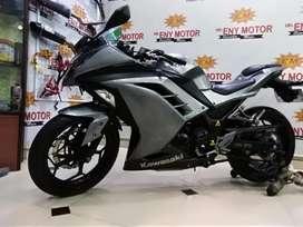 NORMAL!! Kawasaki Ninja 250 fi 2013 Plat Hidup - ENY MOTOR