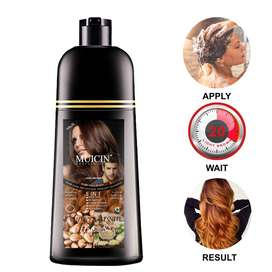 MUICIN HAIR DYE COLOR SHAMPOO 5IN1 HAIR SOLUTION