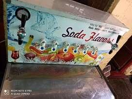 Soda mashin good condition