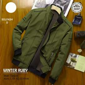 Jaket winter rubby