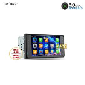 Head Unit Android TOMIKO Universal Toyota All Version RAM 4GB Innova