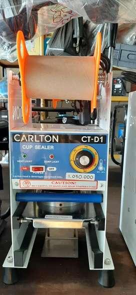 Cup Sealer / Mesin Press Minuman Merk Carlton (Bisa Gelas Tinggi)