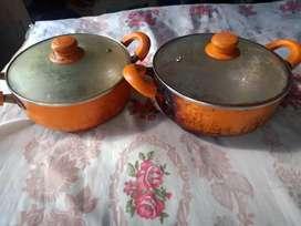 Nirlon Cookware Set