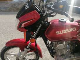 Suzuki GD 110S Red colour  Head to Tail Genuine  First owner.