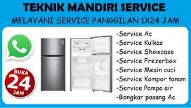Service Ac - Kulkas - Mesin cuci - Kompor tanam - Bongkar Pasang Ac