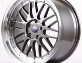 Lemans-306-HSR-Ring-19x85-95-H5x120-ET35-Grey-Machine-Lip1