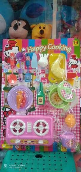 Mainan happy cooking kompor