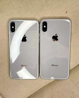 Refurbished iphone X available excellent condition with bill warranty