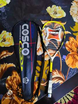 Cosco squash racquet aggression 99 model.. Nvr used.. Brand new sealed