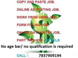 What are you waiting for??? Limited seats opportunity for data entry w