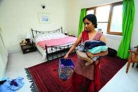 If u need House Maid, Baby Care, Cook, Car