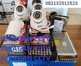 Paket CCTV Bebas pilih Kamera Dalam & Luar Ruangan