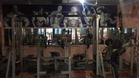 A fully loaded gym