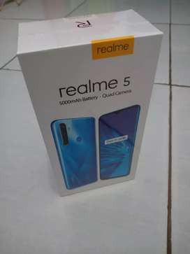 Realme 5 new segel dus Ram 3/64