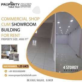 COMMERCIAL SHOPS CUM SHOWROOMS FOR RENT