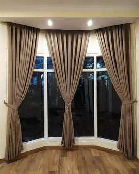 Gorden mewah model minimalis gorden custum blinds vertikal020