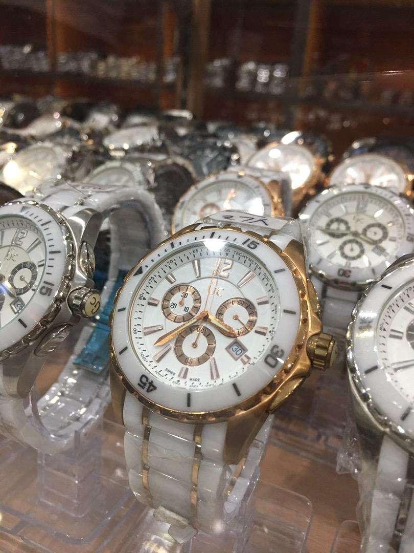 Jam tangan gc unisex chrono aktif bahan stanlies pilihan 0