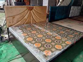 Brand New Fresh Designer Double Bed With Storage Box