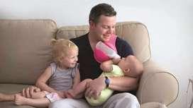 Hand free Milk Feeding for Babies