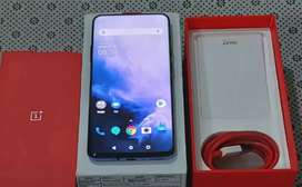 One plus 7 pro with all accessories in warranty