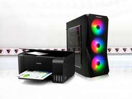 Paket spesial Komputer Intel core i3 dan Printer