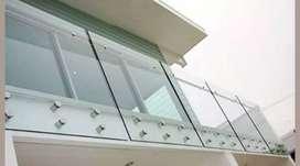 Balkon kaca 6854