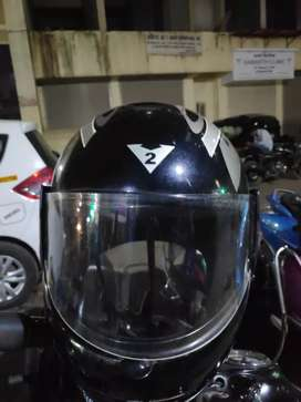 Black Helmet, ISI mark , bike helmet, less used