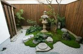 Taman konsep gaya Jepang