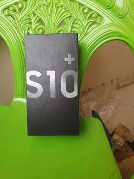 Samsung s10 pus 128 GB.black colour.