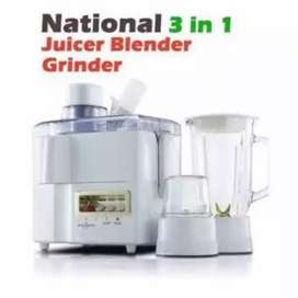 National Blender Juicer / 3 in 1 Juicer