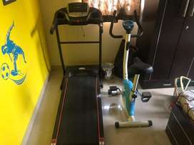 Tradmill & Exercise cycle
