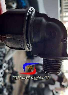 Fitting HDPE Elbow Drat Dalam (Female Thread Elbow)