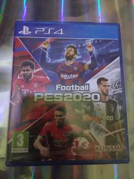 Kaset game Pes 2020  PS 4 NEW/ BARU SEGEL