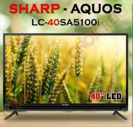 TV Sharp LC-40SA5200i. Bayar Awal 550rb.