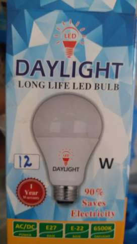 12w led bulbs with one year warranty and row material also available