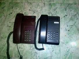 landline phones in good working conditions...