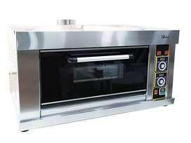 oven gas 1 deck 1 loyang otomatis untuk roti kue rumahan Tangerang