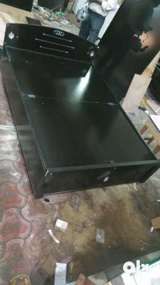 Shri balaji furniture factory rate pr available 4x6 box bed 0