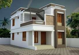 900SqFt villas near ottapalam
