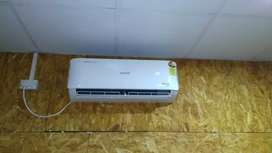 Air conditioning and Refrigeration repairing and instalation Work done