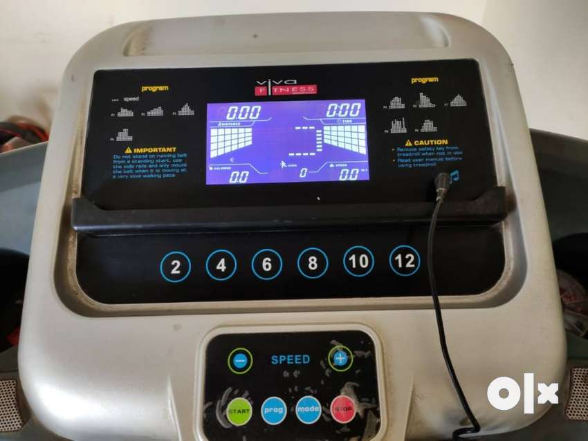 Viva Motorized Treadmill and 6 in 1 abdominal six pack Ab Exerciser 0