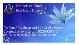 Flat for Rent / sell 1 , 2,3 BHK flat in Ankleshwar