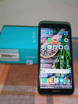 Honor 7 A in super condition with dabba