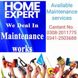 Home expert-Maintenance services at your door