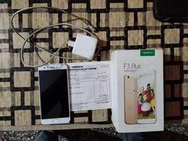Oppo F3 plus Camera (16+8MP front,16MP back) 64 GB  intrnl memory